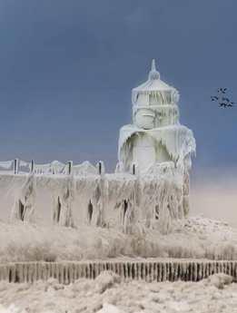 年初美国频遭暴风雪袭击