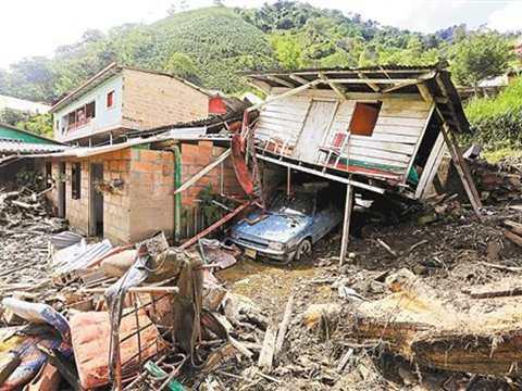 拉美屡遭暴雨袭击 数百人死伤